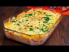 NO COMMENT! Paste cu piept de pui si sos Bechamel Cookrate-Romania - YouTube