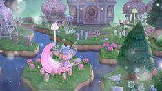 Animal Crossing Funny, Animal Crossing Villagers, Animal Crossing Pocket Camp, Cherry Blossom Tree, Blossom Trees, Nintendo Switch, Pink Island, Island Theme, New Leaf