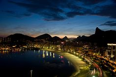 #riodejaneiro #botafogo #corcovado #night  #rio