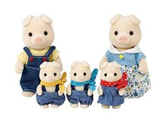 "Epoch Sylvanian Families Sylvanian Family Doll ""Fs-02 Family of Pig"" (japan import) Epoch http://www.amazon.fr/dp/B0039LVDOE/ref=cm_sw_r_pi_dp_iHcQvb12NG8K8"
