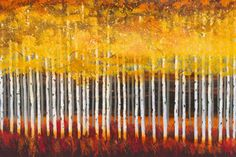 Golden Aspens | Art2Order | Next.co.uk