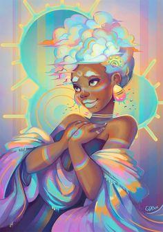 Best Inspiration Art Drawing – My Life Spot Black Girl Art, Black Women Art, Art Girl, Cartoon Kunst, Cartoon Art, Art And Illustration, African American Art, African Art, Fantasy Kunst