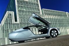 This diesel-electric hybrid by VW gets 261 MPG. Not bad!