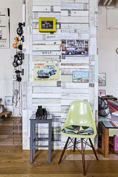 Interior: Home of photographer Pernille Kaalund , Nørrebro, Denmark.