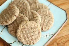 Whole Wheat Peanut Butter Cookies - supposedly not too dense in texture