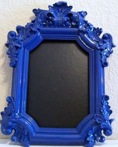items similar to 1 wedding table frame picture frames any color cobalt blue navy blue blue wedding chalkboards elegant weddings photo frames on etsy
