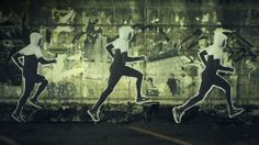 Nike Andrew Howe figures - run