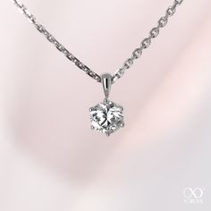 The Venilla diamond pendant demontrates your deep love #yorxs #diamant #anhänger
