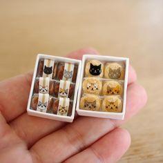 Miniature Japanese Cat Cookies