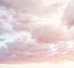 coucher de soleil rose fumé