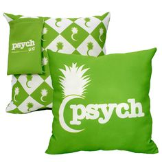 "Custom four-color process printing; sublimated polycotton 16"" x 16"" square throw pillow. Made in USA. Ideal Use: Meetings, Conventions, Trade Shows, Hotels, Cruise Lines, Resorts, Retreats, Retail, Special Events, Hospitals, Seminars, Universities and Colleges. Custom sizes and shapes are available upon request. Call for details."