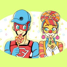 Should we ship them. Arms Switch, Female Clown, All Video Games, Kid Cobra, Gamer Pics, Arm Art, Fighting Games, Super Smash Bros, Making Out