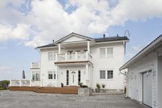 Heikius Hus-Talo Home Fashion, My Dream Home, New England, Architecture Design, Brick, Farmhouse, Mansions, House Styles, Houses