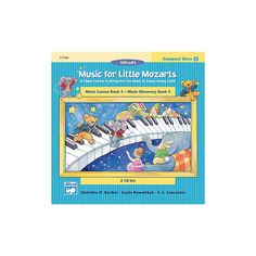 Alfred Music for Little Mozarts CD 2-Disk Sets for Lesson and Discover