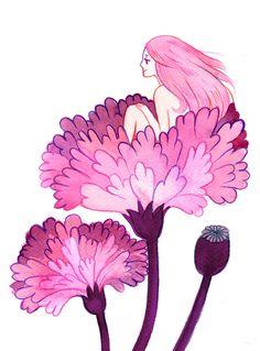 'Peony Poppy' by Heikala