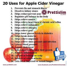 That bottle of #applecidervinegar in your kitchen cabinet is capable of so much more than adding flavor to a #salad. In fact, it may be time to move it to the #medicine cabinet. Organic #apple cider #vinegar is #antibacterial, #antiviral and #antifungal, so it can soothe your #sorethroat, heal your #heartburn, remove that persistent wart and so much more