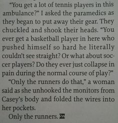 yes. yes. yes. great article from Runner's World.