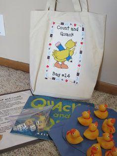 Kindergarten At Heart: Take-Home Bags