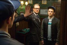"""Er sagt, so wie in """"Kingsman: The Secret Service"""" hätte man ihn noch nie gesehen - hier mit Taron Egerton."""