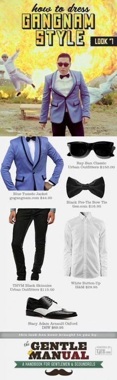 How to Dress Gangnam Style: Tuxedo Look