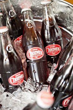 glass cheerwine bottles