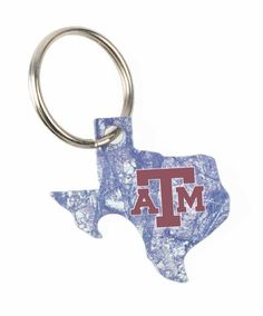 f60de3c7f5e Texas A M Aggies Lonestar Camo Bottle Opener Key Chain Texas Forever