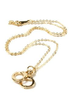 Necklace Nirvana on HauteLook-Handcuff Pendant Necklace