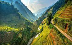 ma Pi Leng Pass in Ha Giang, Vietnam