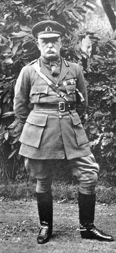 John French, Earl of Ypres, was the field marshal who commanded the British army on the Western Front between August when World War I began, and December when he resigned under pressure and was succeeded by General (afterward Field Marshal) Douglas Haig World War One, First World, Old World, Wilhelm Ii, Kaiser Wilhelm, First Battle Of Ypres, Bonus Army, World Conflicts, Field Marshal