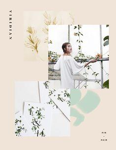 Floral Monogram Invitations + Wandering Vines by Moon