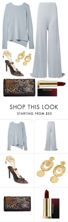 """Untitled #1999"" by badgiirls ❤ liked on Polyvore featuring Rosetta Getty, Yves Saint Laurent, Christian Louboutin and Kevyn Aucoin"