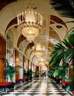 Hotel Waldorf Astoria in New York, USA  - Can't wait to go for our 1 year anniversary!