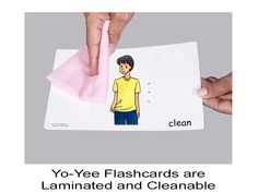 Adjective Flashcards for young learners