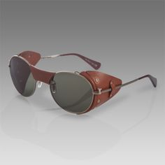 Men's Alrick Show Glasses by Paul Smith Sunglasses  An original take on the aviator goggles.