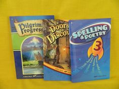 ABeka Spelling 3, Pilgrims Progress, Doors to Discovery Homeschool / School 3rd #TextbookBundleKit