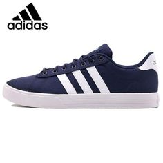 new arrivals 19ff1 69179 Official Original Adidas NEO Label DAILY 2 Men s Skateboarding Shoes  Sneakers Breathable Low Top Flat Leisure