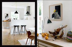 modern danish interior design mid century