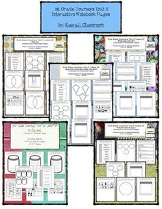 These interactive notebooking pages are a great supplement to what is already included in the Journey's curriculum. I find that my students get more excited doing these types of activities rather than just workbook pages. This file includes:1st Grade Journeys Lesson 26 Interactive Notebook Pages1st Grade Journeys Lesson 27 Interactive Notebook Pages1st Grade Journeys Lesson 28 Interactive Notebook Pages1st Grade Journeys Lesson 29 Interactive Notebook Pages1st Grade Journeys Lesson 30…