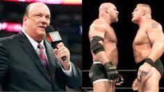 Paul Heyman Issues A Challenge To Goldberg On Behalf Of Brock Lesnar