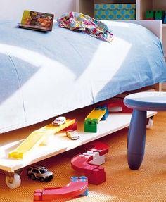 Ordenar y almacenar debajo de la cama
