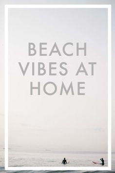 bring the beach home