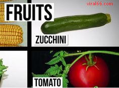 amazing secret truth about fruits and vegetables, Why Tomatoes Are Fruits, and Strawberries Aren't Berries
