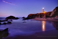 The Lighthouse in my hometown, S. Pedro de Moel, Portugal.