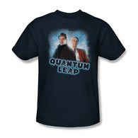 Quantum Leap Sam & Al t shirt. This tee is officially licensed and made of 100% pre shrunk cotton. Free Shipping. Buy 2 or more items and receive 10% off your entire order.