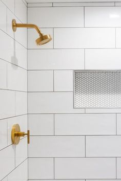Grey Grout Bathroom, White Tiles Grey Grout, Large Tile Bathroom, Hexagon Tile Bathroom, White Subway Tile Bathroom, Subway Tile Showers, Bathtub Tile, Large Tile Shower, Tile Around Bathtub
