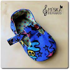 como hacer zapatos de fieltro para bebes - Buscar con Google