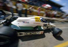 """Keijo Erik """"Keke"""" Rosberg (FIN) (TAG Williams Racing Team), Williams FW09 - Honda RA163-E 1.5 V6 (t/c),1983"""