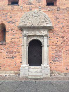 Vadstena kloster, 1600-talsportal. Photo: Lisa Berglund