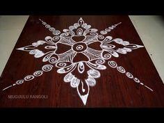 easy rangoli design rangoli design video youtube youtube muggulu best rangoli design indian rangoli - YouTube Best Rangoli Design, Rangoli Designs Flower, Rangoli Kolam Designs, Beautiful Rangoli Designs, Indian Rangoli, Muggulu Design, Simple Rangoli, Shibori, Indiana
