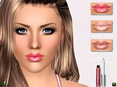 Sims Addictions: Clear Watershine Gloss